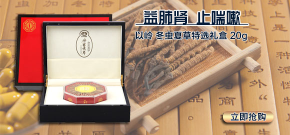 以岭 冬虫夏草特选礼盒 20g