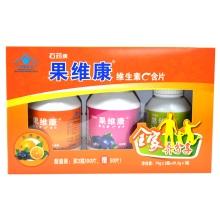 果维康维生素C含片(促销装)79g*2瓶+50片