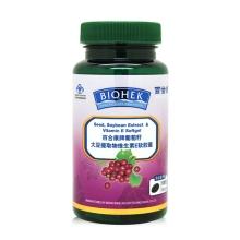 百合康牌葡萄籽大豆提取物维生素E软胶囊 500mg*100粒