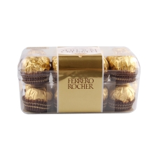 费列罗榛果威化巧克力16粒装
