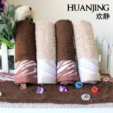 欢静 虎皮纹竹纤维方巾