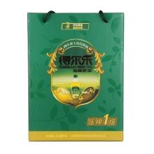 得尔乐 有机山茶油压榨一级2L*2礼盒装 油