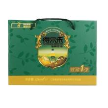 得尔乐 有机山茶油压榨一级325ml*4瓶 礼盒装  油