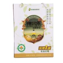 得尔乐 有机山茶油冷榨一级2L*2瓶礼盒装 油