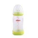 贝亲—自然实感宽口径PP奶瓶240ml(绿色)