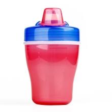 贝亲—双层保温饮水杯(粉兰色杯)