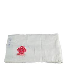 洁丽雅6414竹纤维绣花美容浴巾单条装(浅绿)