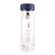富光双层玻璃杯 G1416-350