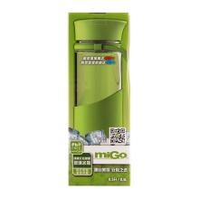 miGo 享悦便携无铅健康玻璃水瓶 0.5L - 暖茶灰