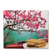 豆豆呷足台式蛋黄卷(饼干)100g