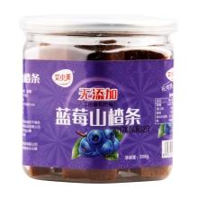 艾小美208g零添加山楂条蓝莓