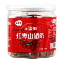 艾小美208g零添加山楂条红枣