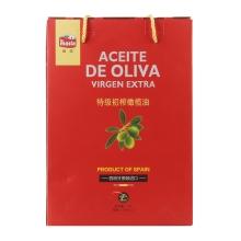 欧蕾特级初榨橄榄油简装礼盒750ml*2