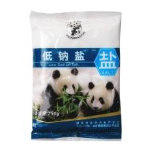 熊猫 低钠盐 250g