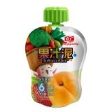 方广 黄桃草莓果汁泥 103g