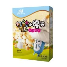 方广 机能小馒头 高钙牛奶味 80g
