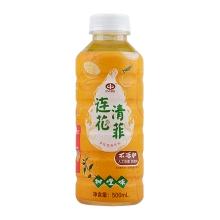 以岭 连花清菲果味植物饮料(甜橙味)500ml