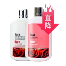 婵媄·雅玫瑰洗发护发组合系列 500ml+500ml