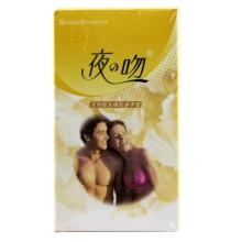 夜之吻天然胶乳橡胶避孕套