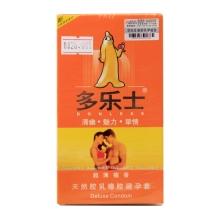 多乐士 超薄檀香天然胶乳橡胶避孕套 12支