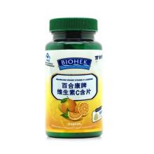 百合康牌 维生素C含片 1.2g*100粒