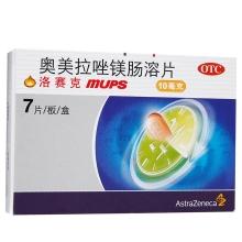 洛赛克MUPS/LOSEC MUPS 奥美拉唑镁肠溶片 10mg*7片/盒