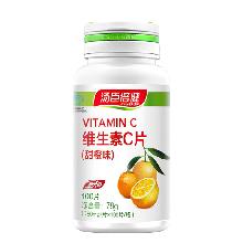 汤臣倍健维生素C片 780mg/片*100片 增强免疫 健康添活力