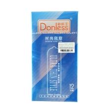 多乐士 时尚超薄避孕套 12只装 贴身爽滑安全套 成人用品