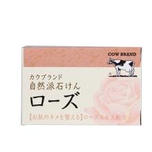 牛乳石硷自然派洁面皂(玫瑰)100g