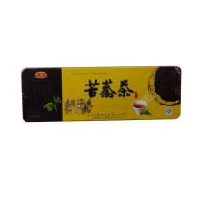 乐百味铁盒苦荞茶 250g