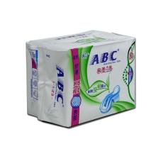 ABC夜用纤薄网感棉柔表层卫生巾8片(含澳洲茶树精华)