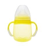 贝亲 奶嘴式宝宝杯(黄色)250ml