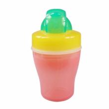 贝亲—双层保温吸管杯(黄绿色杯)