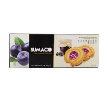 素玛哥牌蓝莓果酱曲奇饼干100克