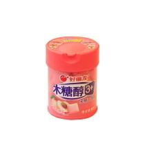 好丽友木糖醇3+香甜蜜桃味口香糖