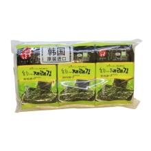 高邦喜绿茶味海苔5g*3 小零食