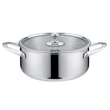 瑞士路卡酷LUCUKU水云间20CM汤锅  买一赠送LUCUKU不锈钢汤勺一个 赠品赠完为止