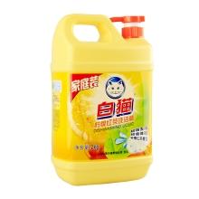白猫柠檬红茶洗洁精2KG