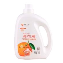 橙乐工坊抑菌护理洗衣液3kg