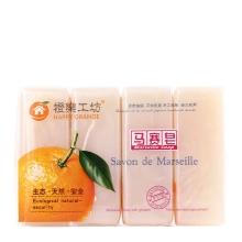 橙乐工坊马赛皂180g*4