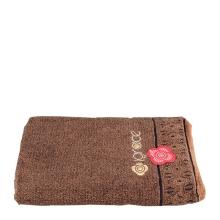 洁丽雅8124纯棉浴巾(深棕)