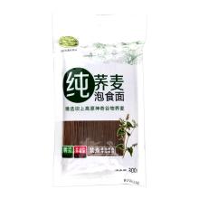 绿坝纯荞麦泡食面300g