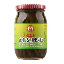 金兰 金蘭剥皮辣椒450g