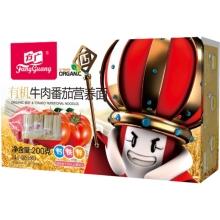 方广 有机牛肉番茄营养面 200g