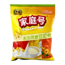 大地家庭号未添加蔗糖豆奶粉500g