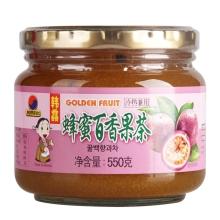 韩馫蜂蜜百香果茶 550g