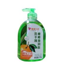 橙乐工坊 橄榄油洗手液500g