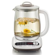 小熊 养生壶 多功能玻璃加厚电热水壶煮茶壶煎药壶 YSH-B18P1 白色