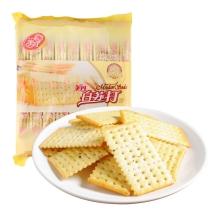 美丹 白苏打芝麻味 饼干 450g(18小包)小零食