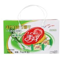 美丹 白苏打 饼干(鲜葱) 1000g(35包) 小零食